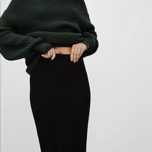 Aritzia Wilfred Lis Pencil Skirt